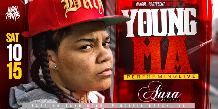 YOUNG MA AURA EVENTBRITE